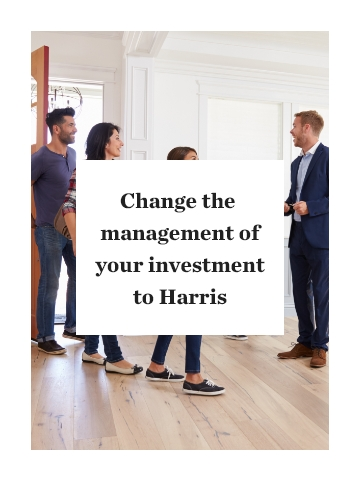 How To Change The Management Of Your Investment To Harris