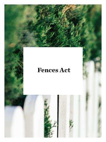 Fences Act
