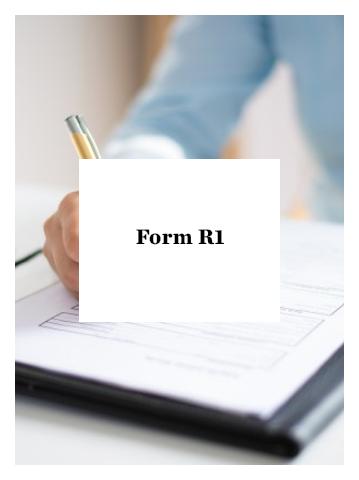 Form R1