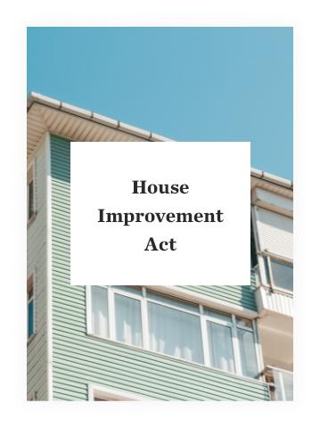House Improvement Act